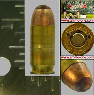 .45 Auto, REM-UMC, TRACER, One Cartridge