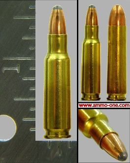 5.7x33mm Johnson Spitfire, 40gr JSP, One Single Cartridge