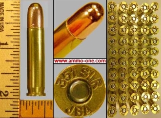 .351 Winchester Self-Loading, FMJ, Box of 50 cartridges