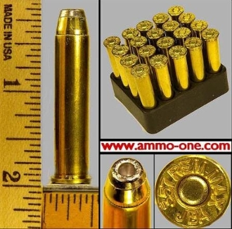 .357 Remington. Maximum by Jamison, 1 Box of 20 Cartridges.