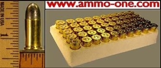 .38 Smith & Wesson, 38 S&W Lead, Box of 50 cartridges