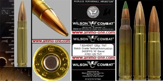 7.62x40WT, Wilson Tactical, One Cartridge