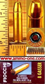 8mm Rast-Gasser, 1 Cartridge, LIMIT 1 PER CUSTOMER, no returns.