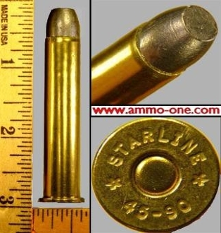 .45-90 Winchester by New Production, Lead 1 Cartridge not a box!