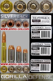 Gorilla's Silverback Line, 4 assorted cartridge Set, not a box