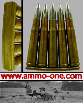 "1 ""Empty"" Clip  for the .55 Boys Anti-Tank Rifle"