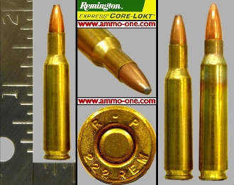 .222 Remington by Remington, JSP, One Cartridge not a Box!
