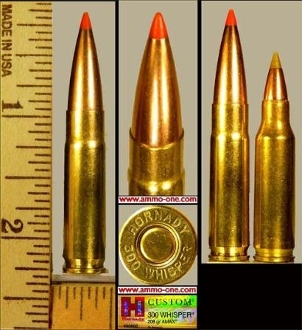 .300 Whisper by Hornady, AMAX Subsonic, One Cartridge not a Box.