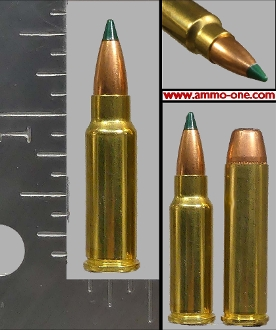 .224-32 FA (Freedom Arms) Wildcat, 1 Cartridge not a Box.