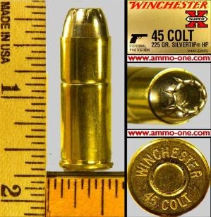 45 Long Colt Winchester Silver-Tip ammo ammunition for sale