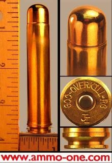 .600 Overkill by AHR, 900 grain FMJ, One Cartridge, not a Box !